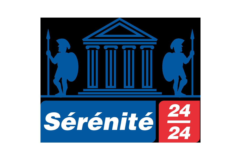 Logo services Sécurité et Ascenseurs Serenite 24h24