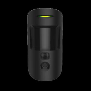 Detecteur De Mouvement Noir Camera Alarme Serenite 24h24 Securite